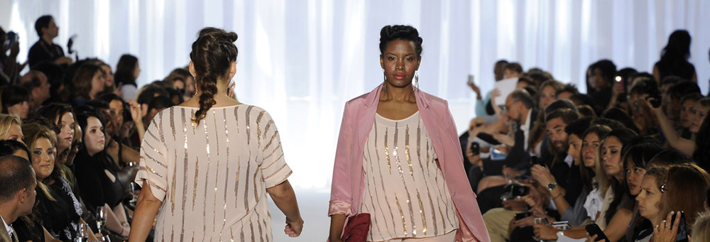 Plus-size Elena Miro fashion show goes on after being ...